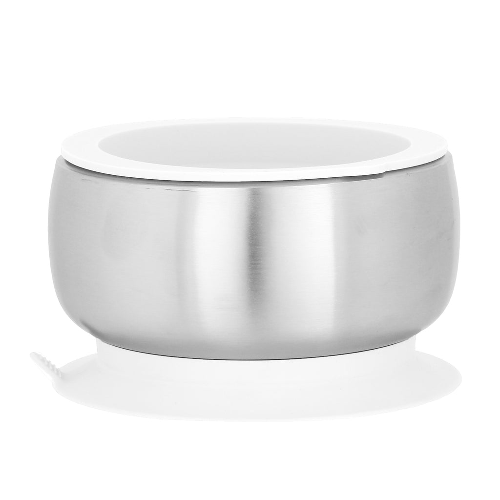 Avanchy - Avanchy Stainless Steel Baby Bowl with lid
