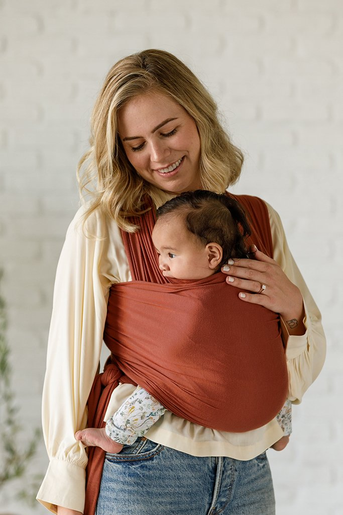 Solly Baby Wrap Carrier - Saffron