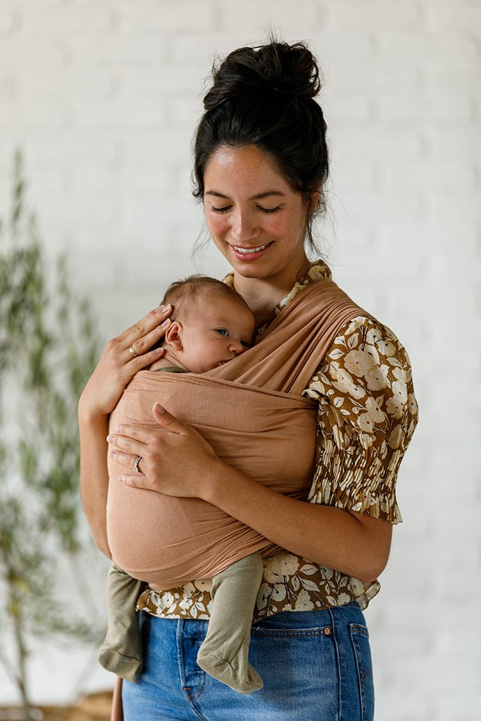 Solly Baby Wrap Carrier - Terra Cotta