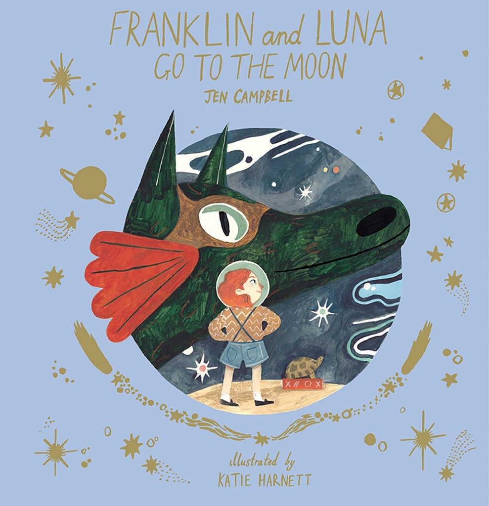 Thames & Hudson Books - Franklin and Luna Go To The Moon