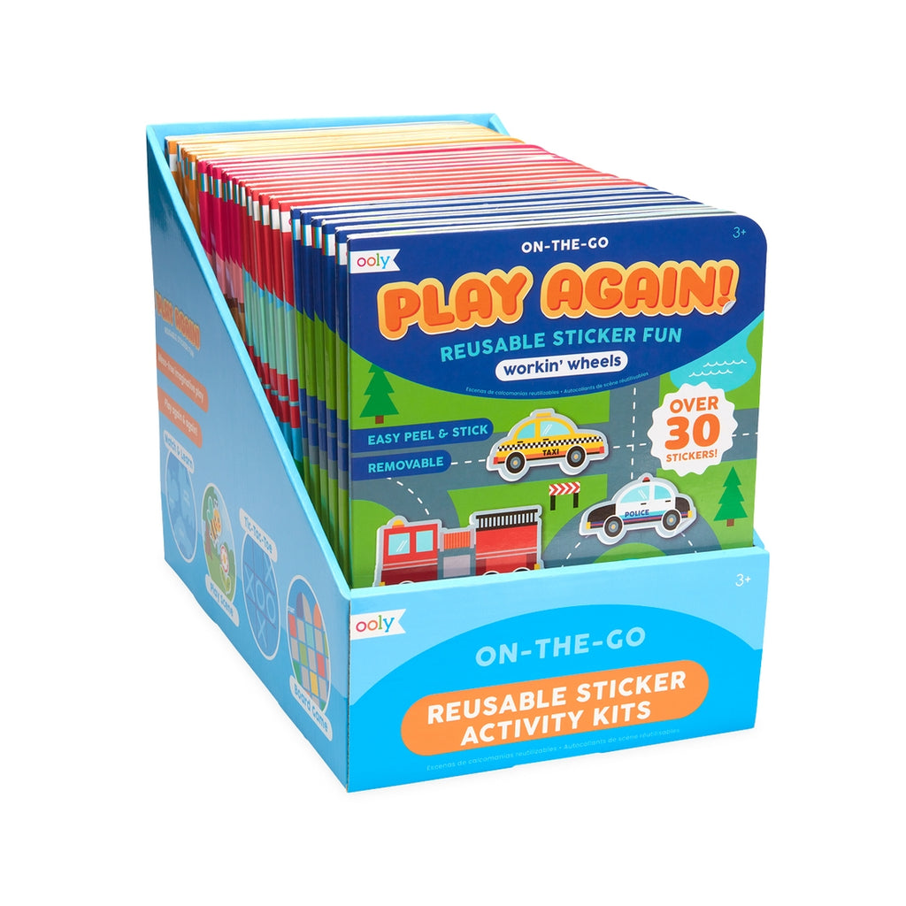Ooly Play Again! Mini On-The-Go Activity Kits