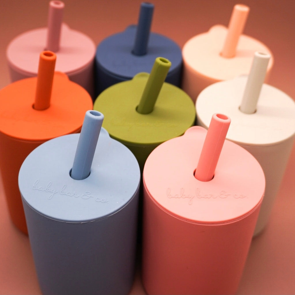BB Silicone Cup with Straw