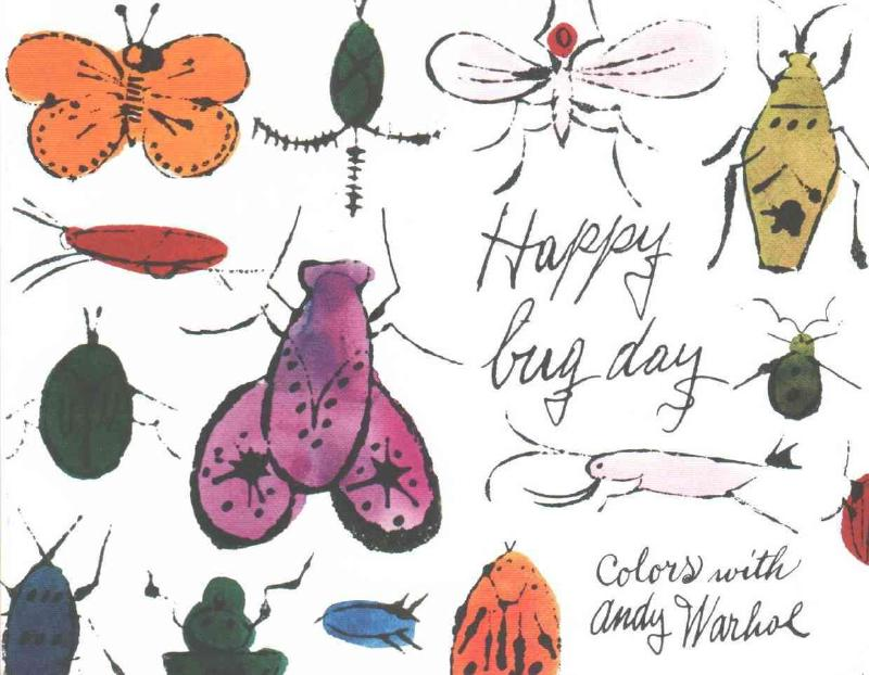 Mudpuppy Books - Andy Warhol Happy Bug Day