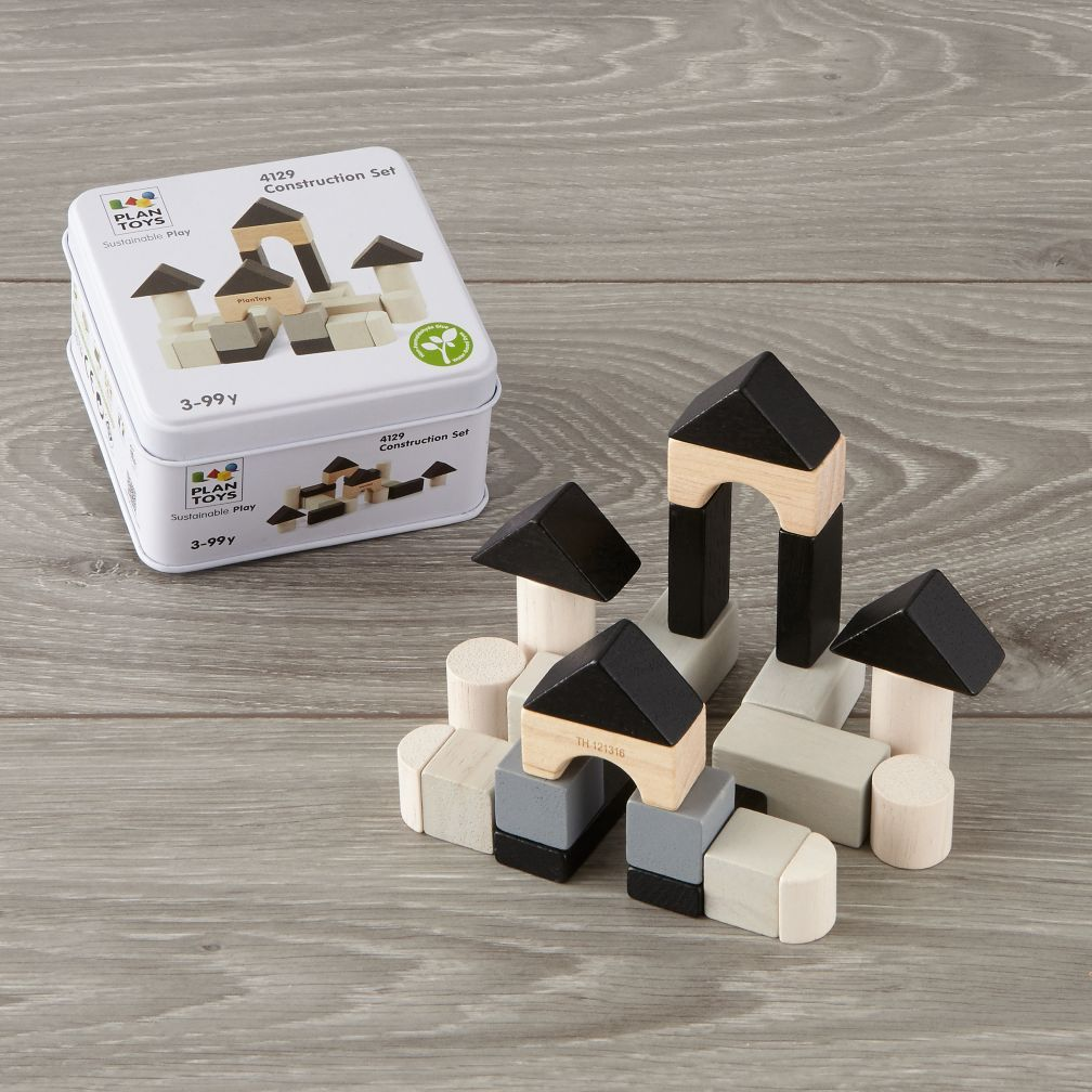 Plan Toys Construction Blocks Set