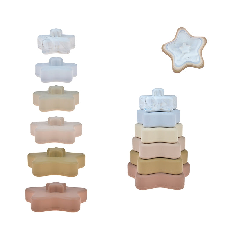 Stella Star Silicone Stacker