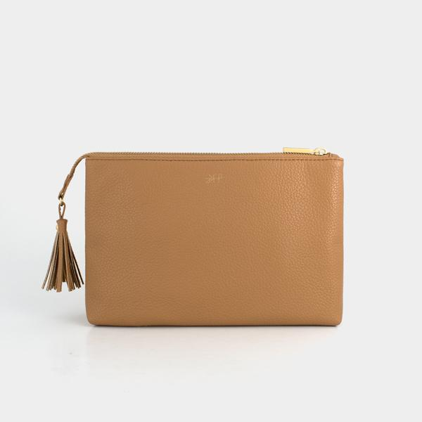 Freshly Picked Zip Pouch - Butterscotch
