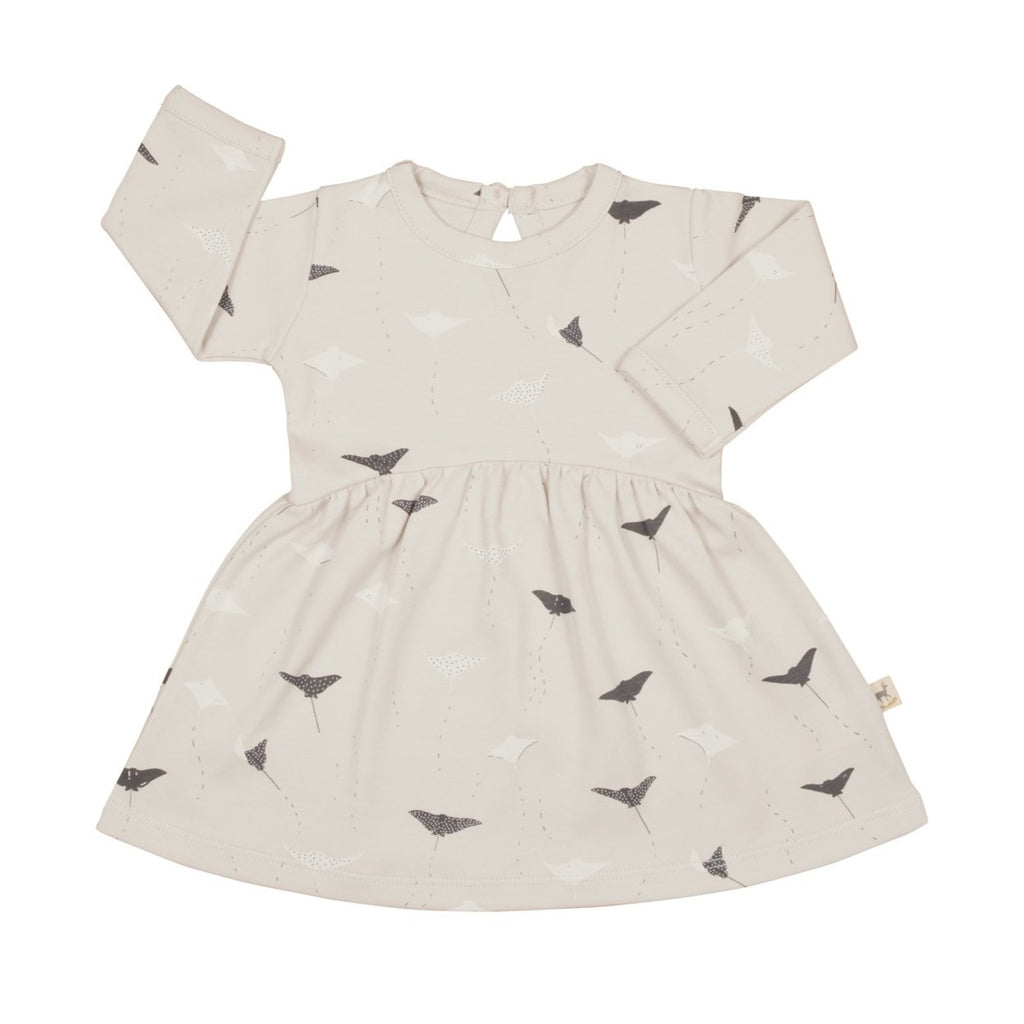 Red Caribou Baby Dress - Ocean Voyagers