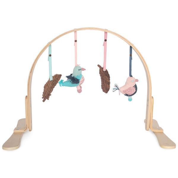 Finn + Emma Feather Play Gym - Natural