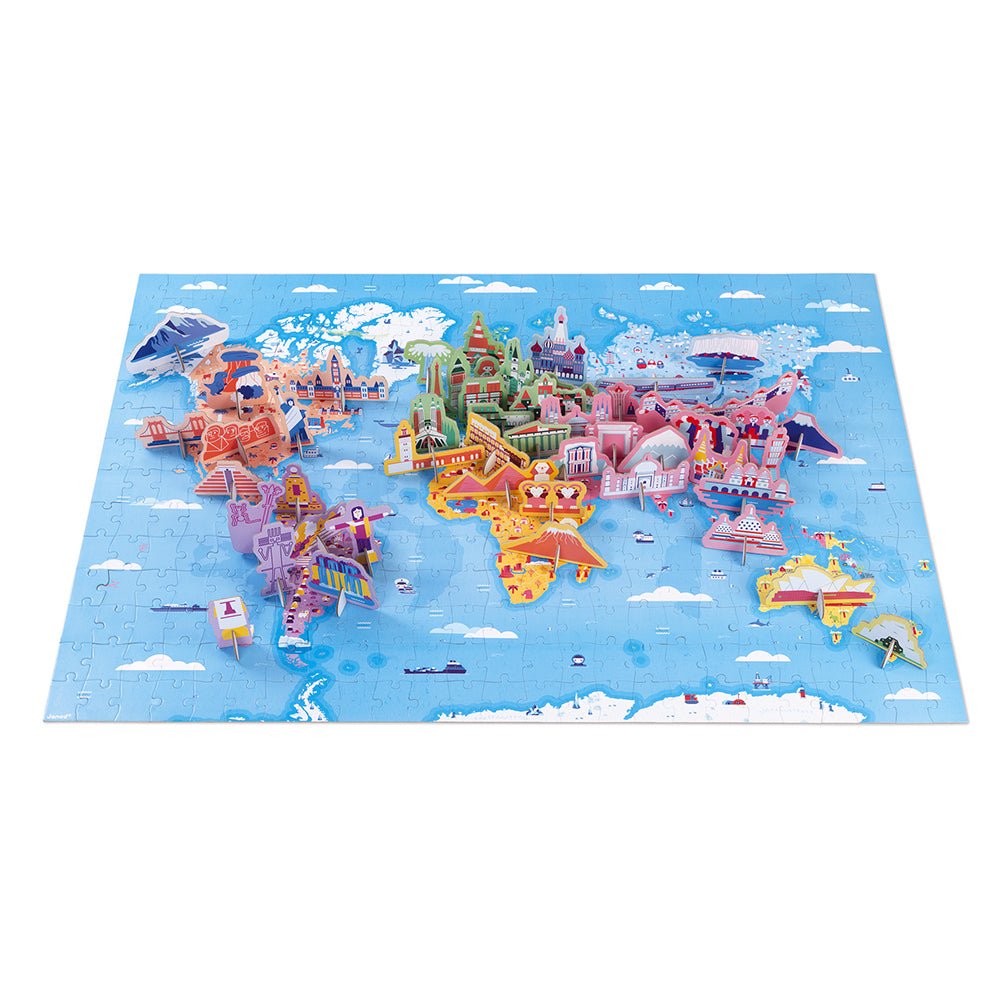 World Curiosities - Educational 350pc Puzzle