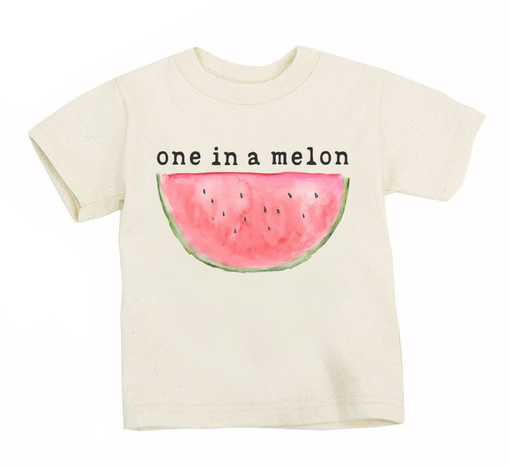 Mini + Meep - Tee One in a Melon