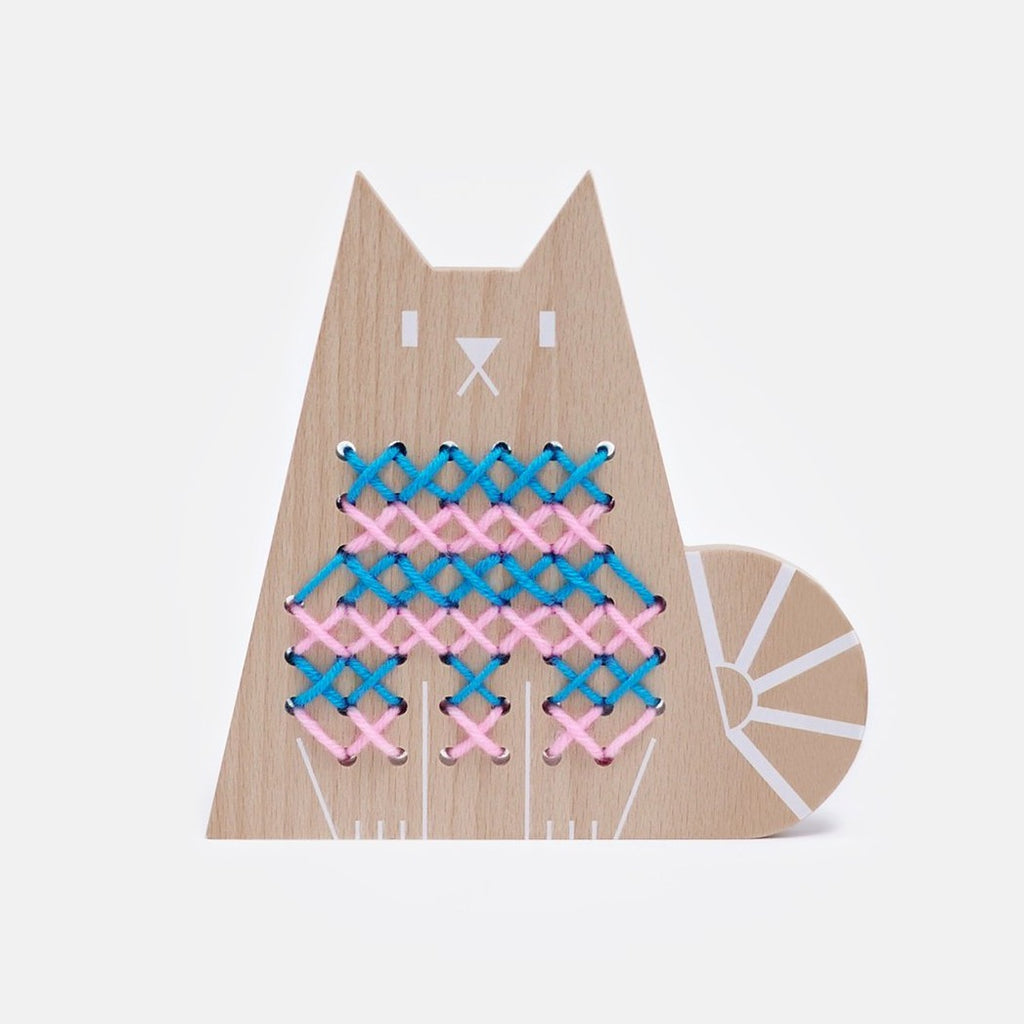Moon Picnic Cross-stitch Friends - Cat