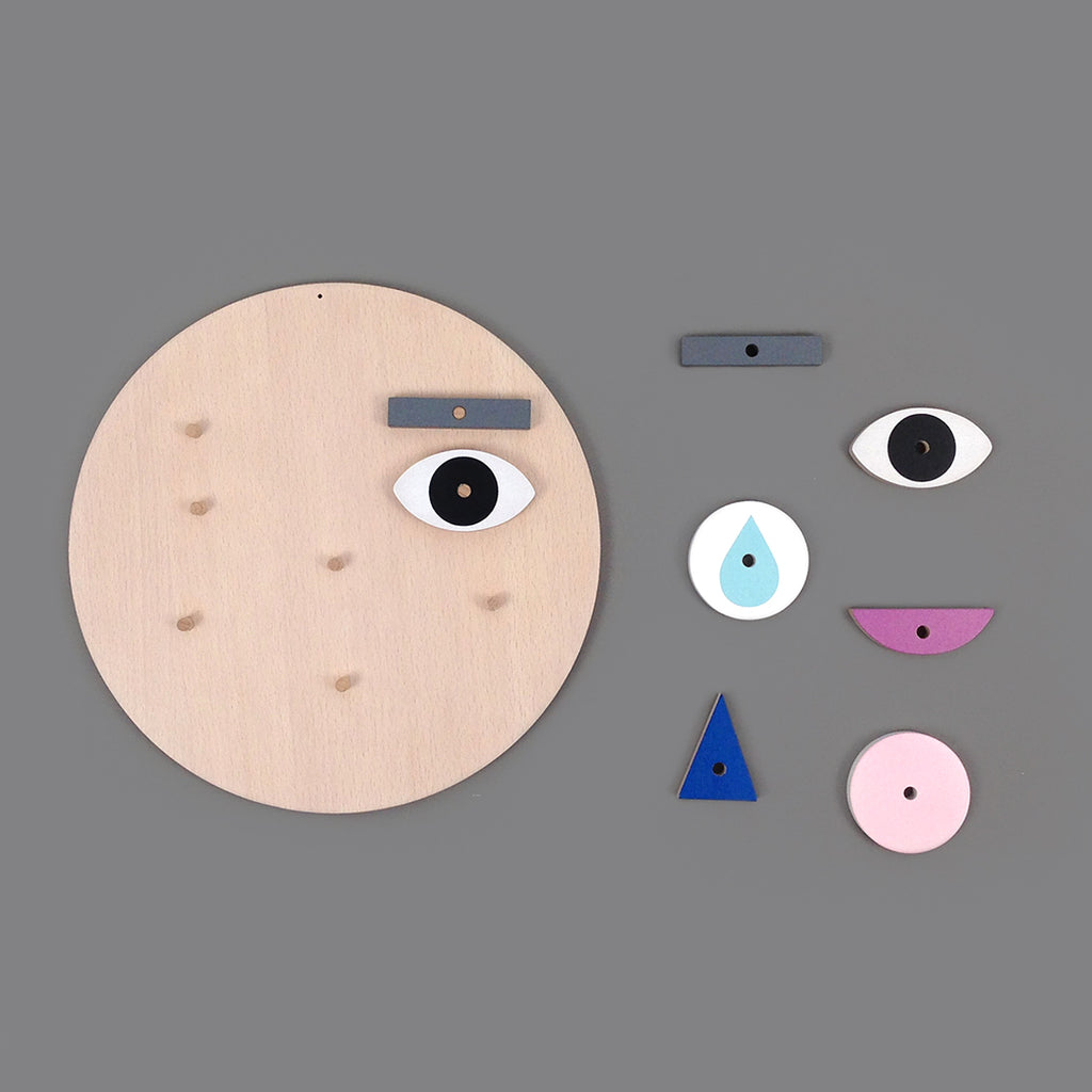 Moon Picnic Make a Face Toy