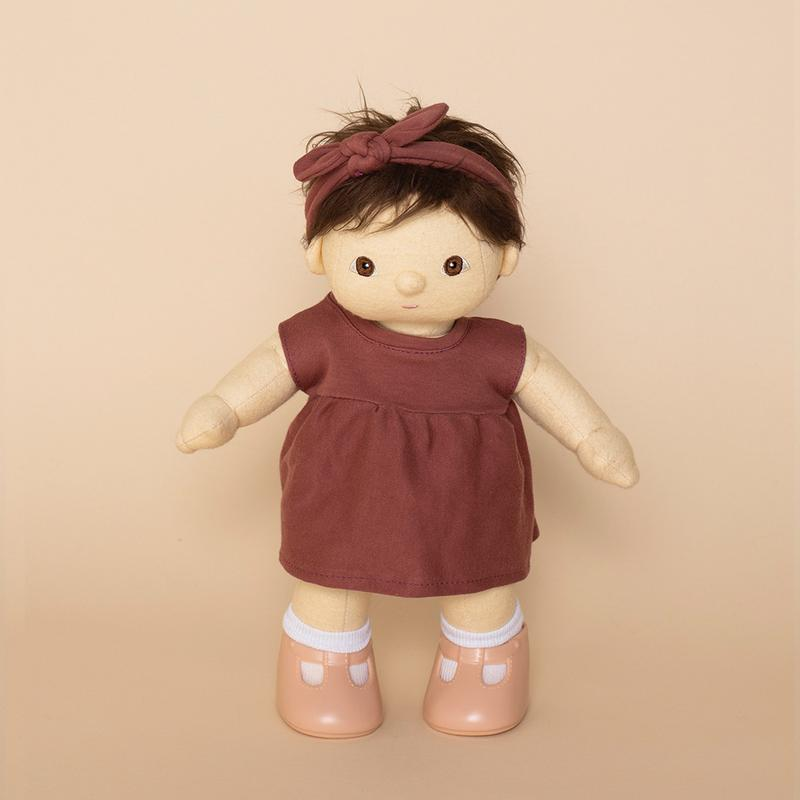 Olli Ella Dinkum Doll Travel Togs - Rose