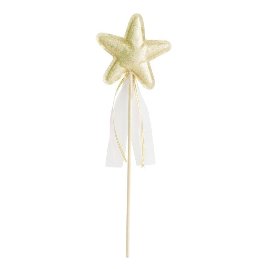 Alimrose Amelie Star Wand - Gold