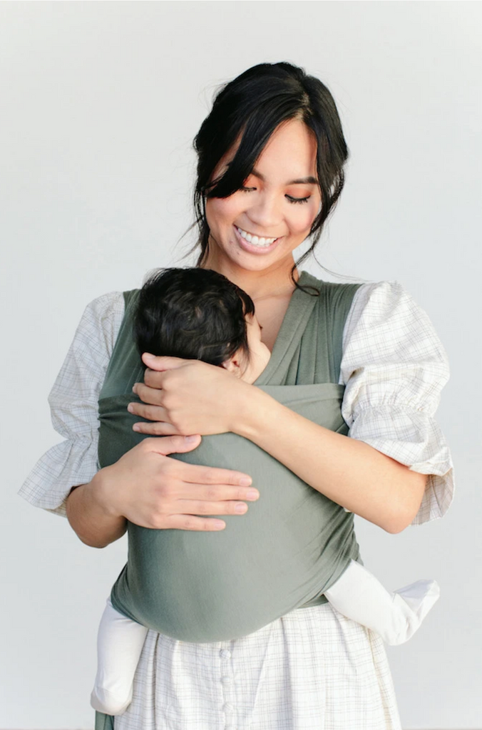 Solly Baby Wrap Carrier - Basil