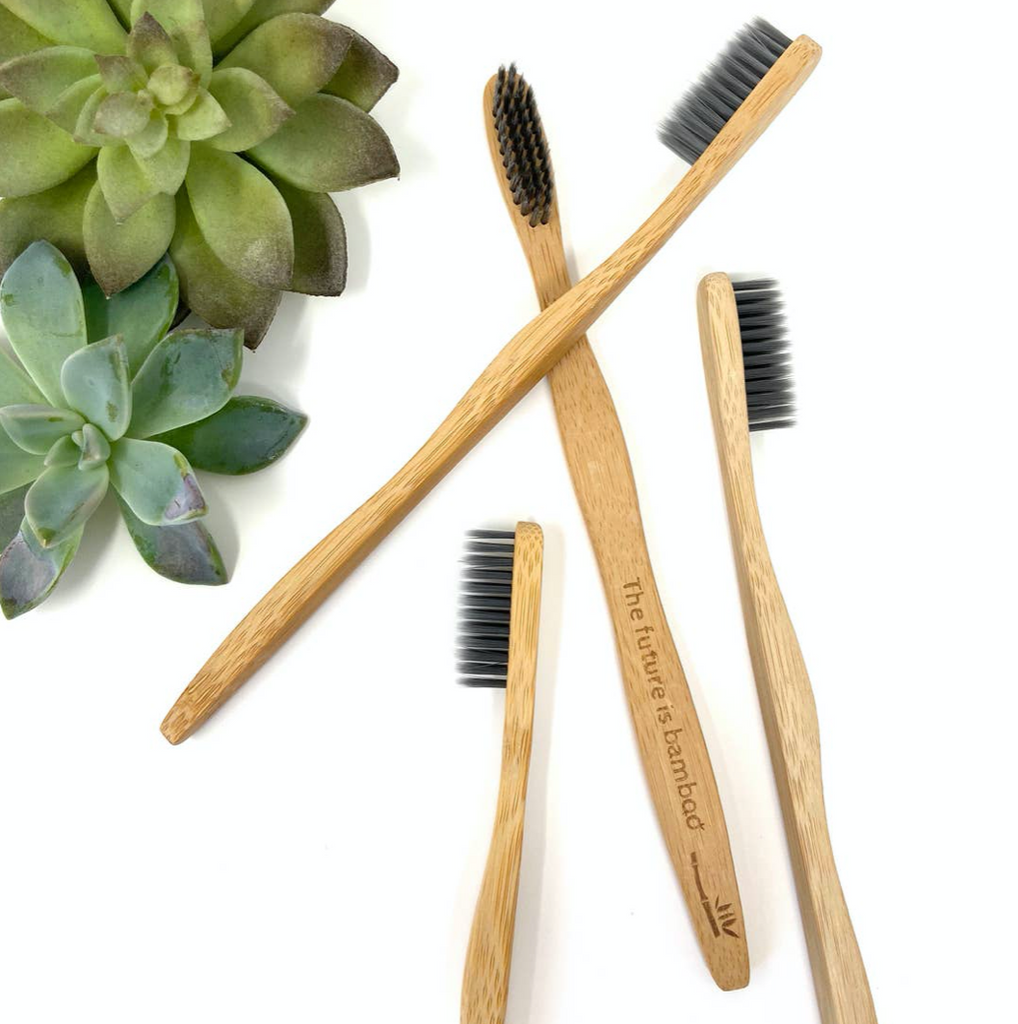 The future is bamboo - Charcoal Toothbrush