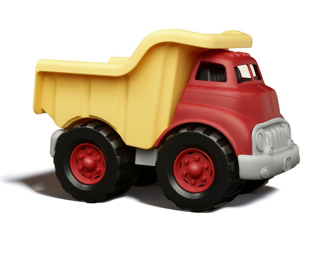 Green Toys - Dump Truck - Red & Yellow