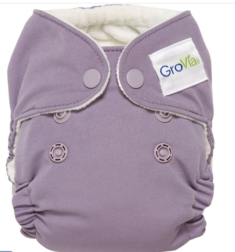 GroVia AIO Newborn Diaper - Haze