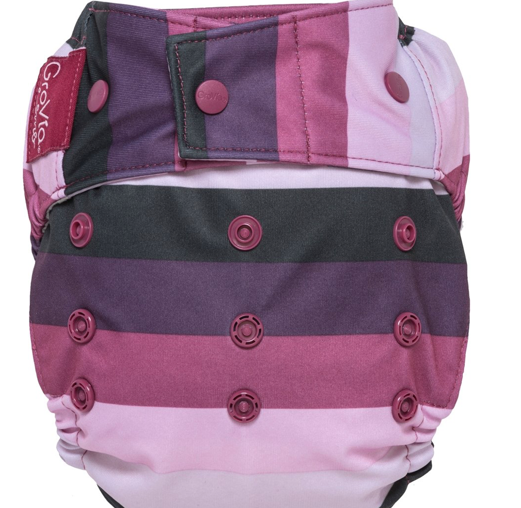 GroVia Hybrid Shell Snap Diaper - Sugar Rush