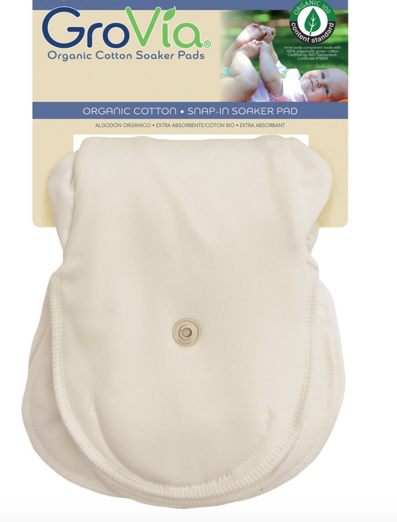 GroVia Organic Cotton Soaker Pad - 2-pack