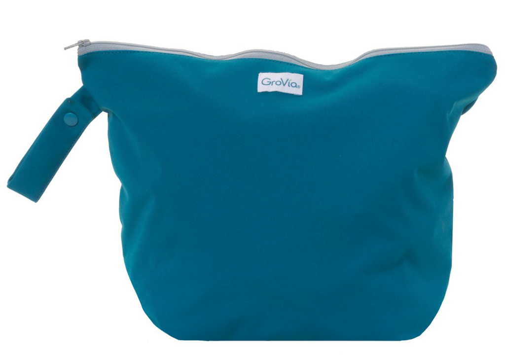 GroVia Zippered Wet Bag - Abalone