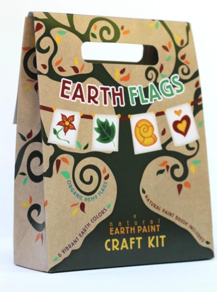Natural Earth Paint - Earth Flags Craft Kit