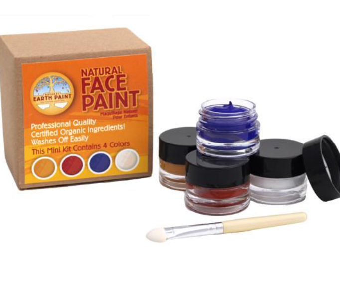 Natural Earth Paint - Mini Natural Face Paint Kit