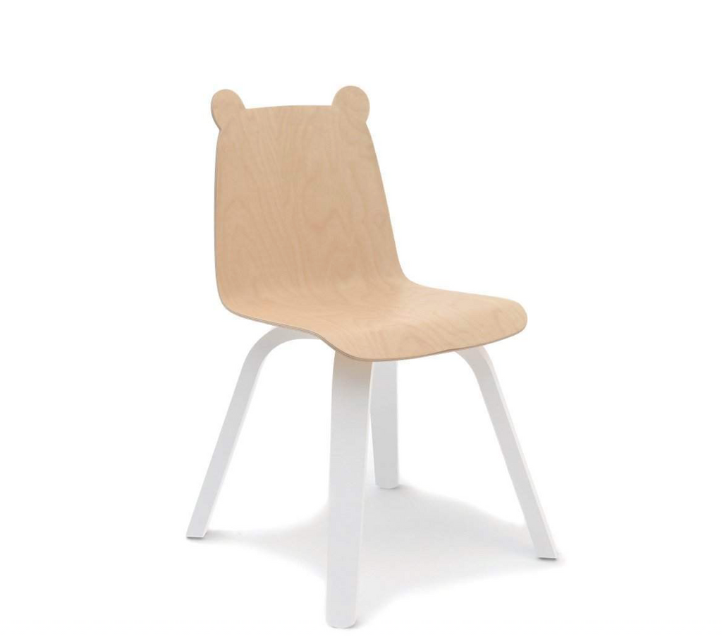 Oeuf Play Chairs Set of Two - Bear