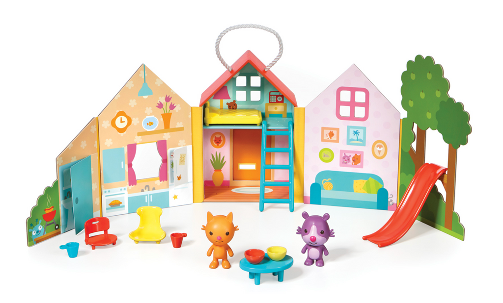 Sago Mini Portable Playset- Jinja's House