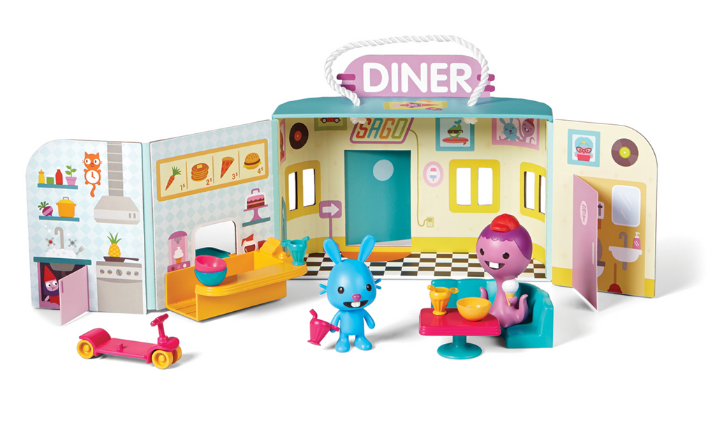 Sago Mini Portable Playset- Jack's Diner