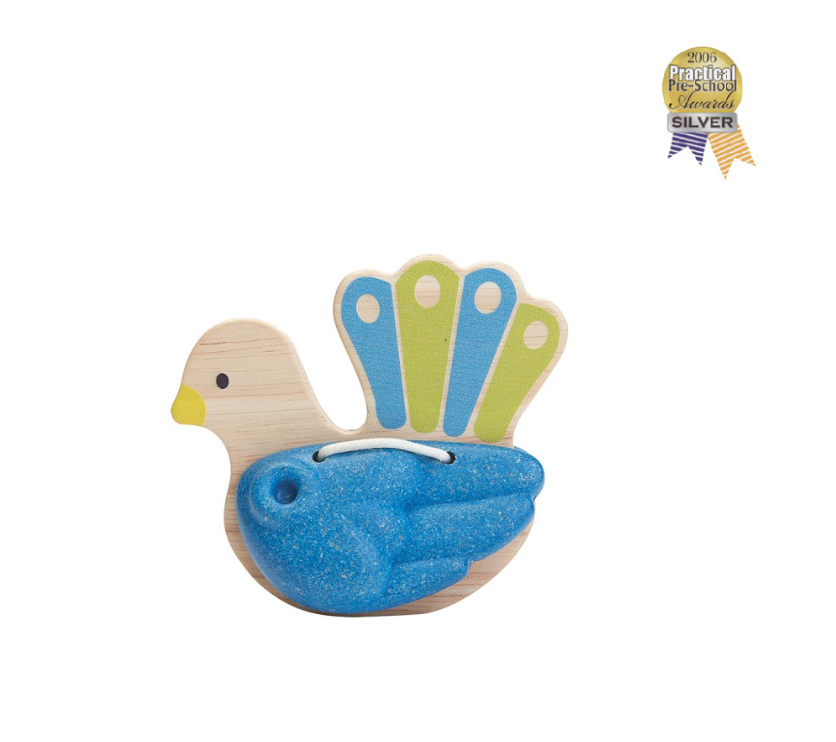 Plan Toys Bird Percussion Peacock