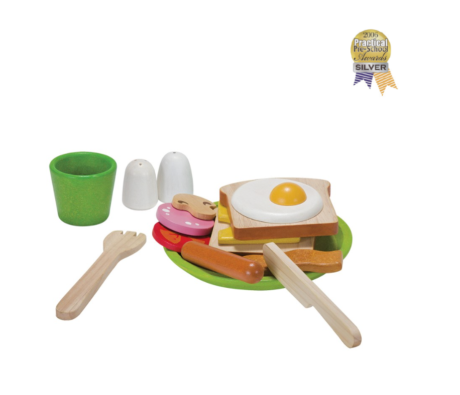 Plan Toys Breakfast Menu Set