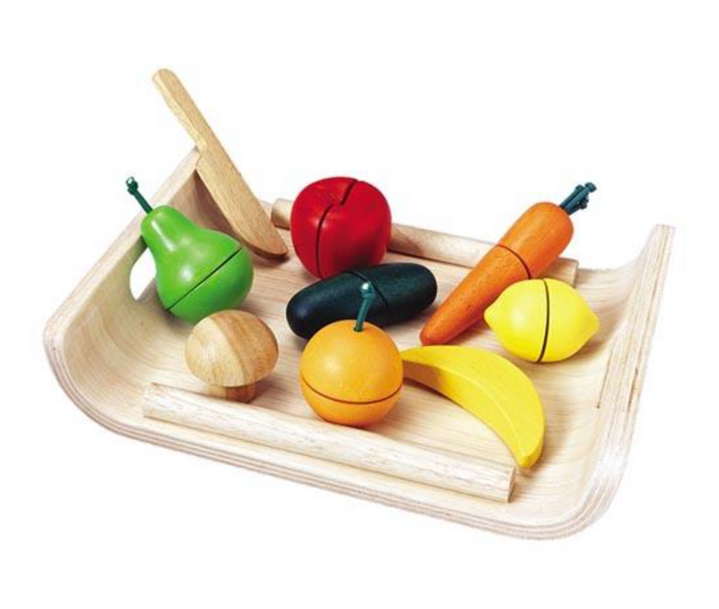 Plan Toys Fruit and Vegetable - Assorted