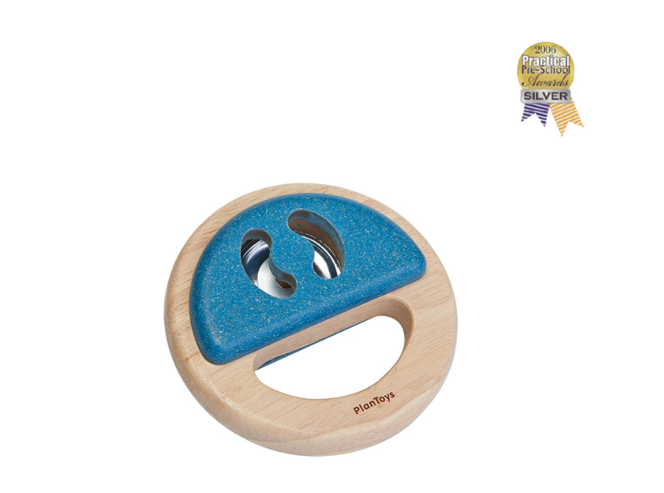 Plan Toys Percussion - Blue Tamborine