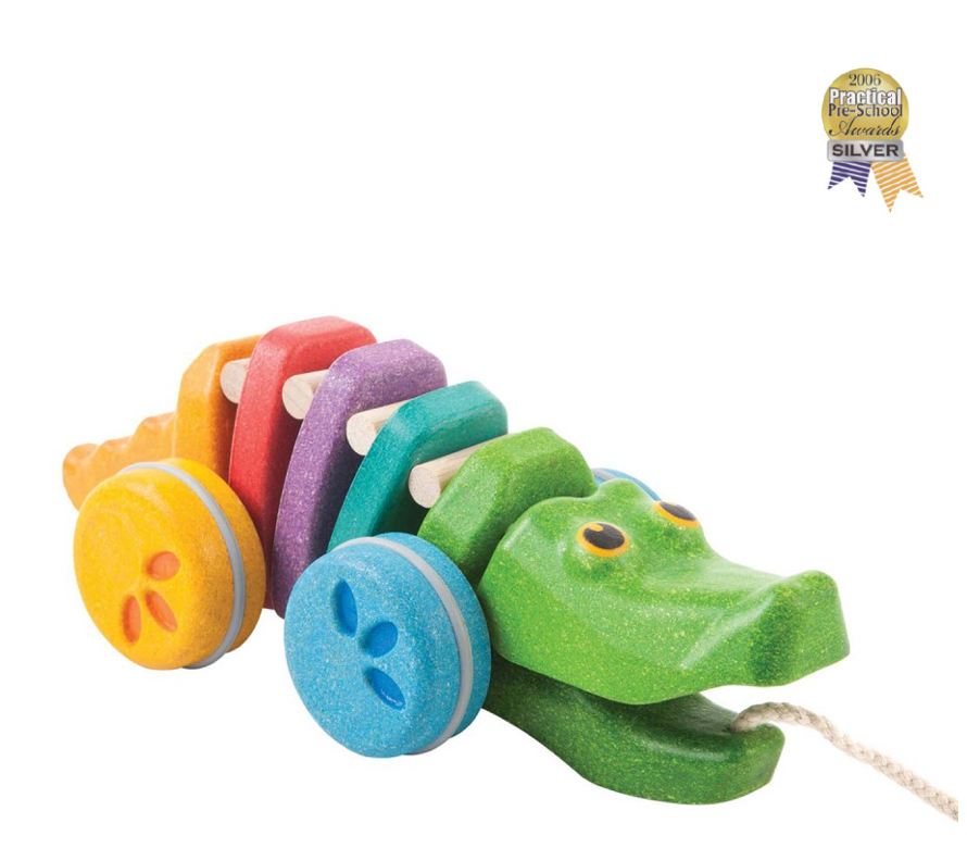 Plan Toys Rainbow Dancing Alligator