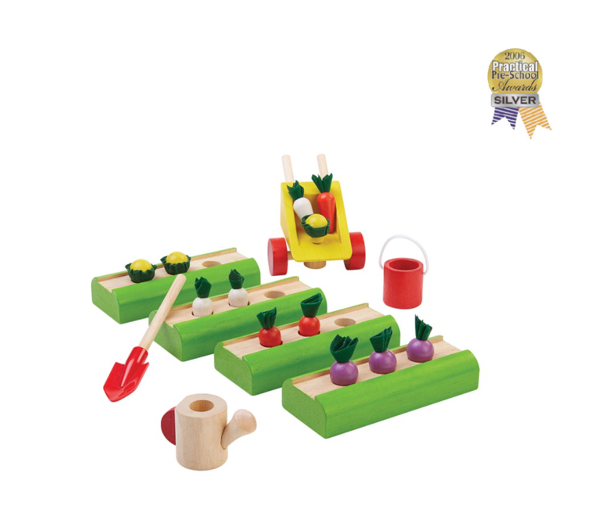 Plan Toys Vegetable Garden Set