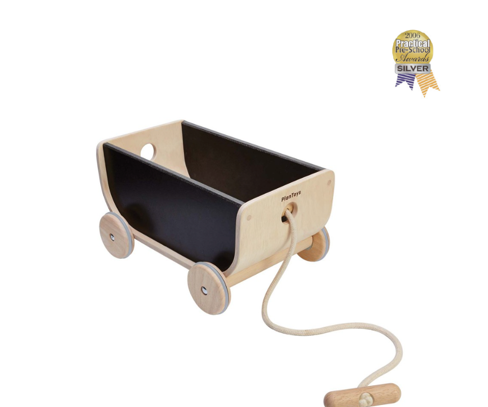 Plan Toys Wagon - Black