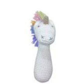 EFL Kids - Albetta - Unicorn Rainbow Stick Rattle