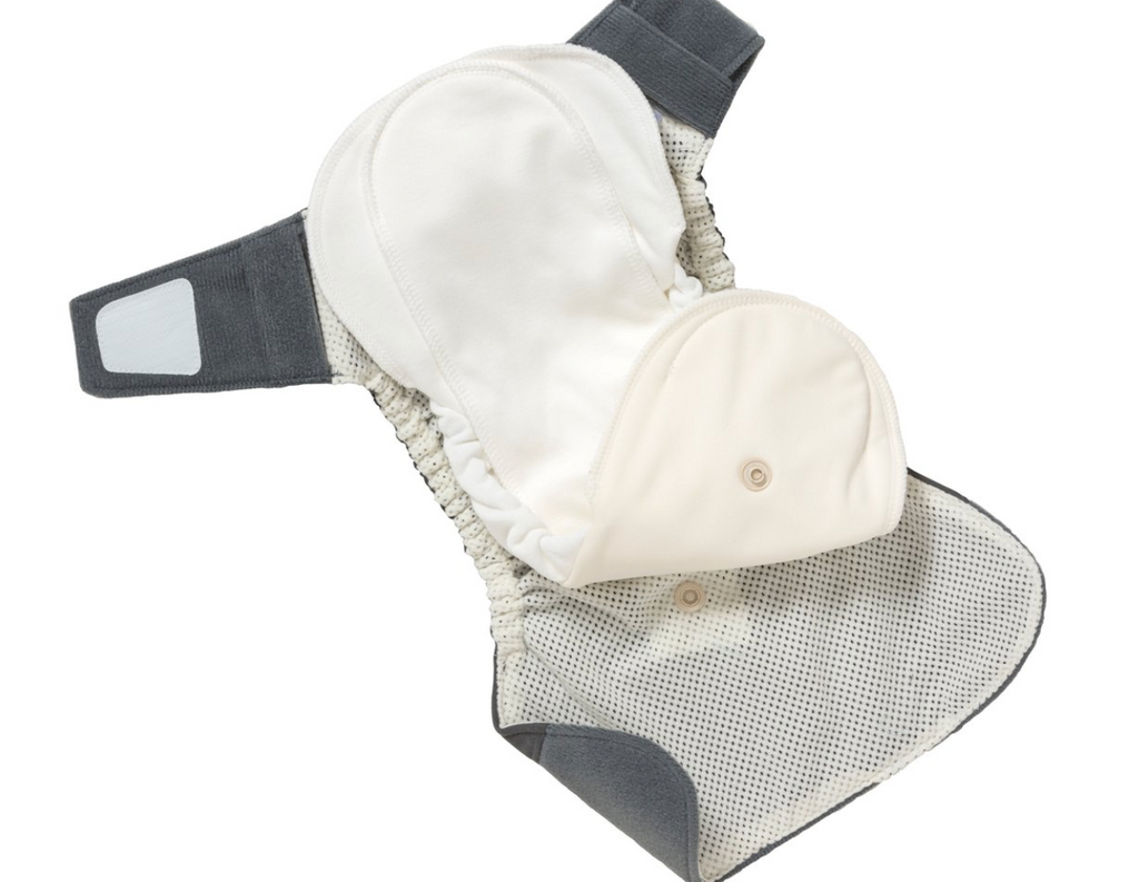 GroVia Hybrid Shell Snap Diaper - Cloud