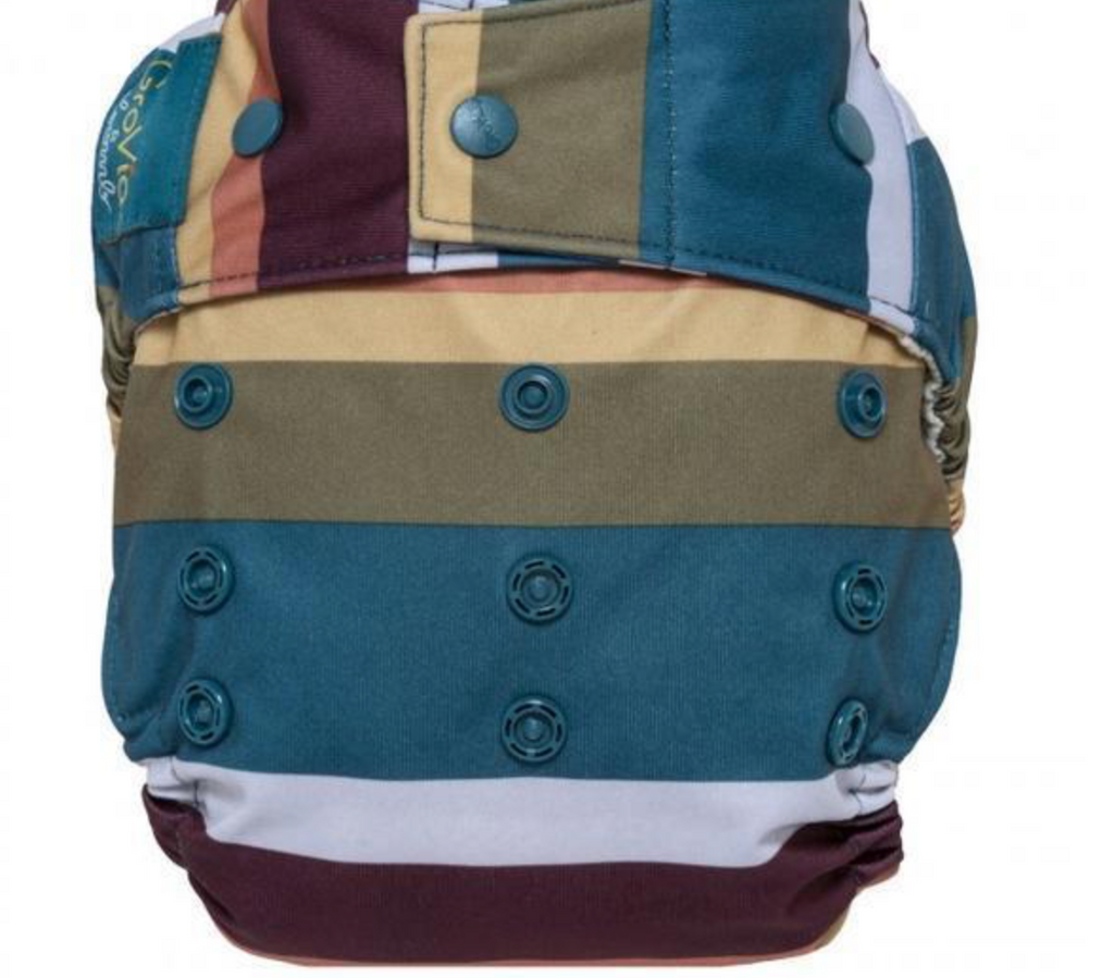 GroVia Hybrid Shell Snap Diaper - Jewel