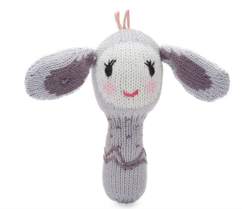 Finn + Emma Mini Rattle - Belle the Bunny
