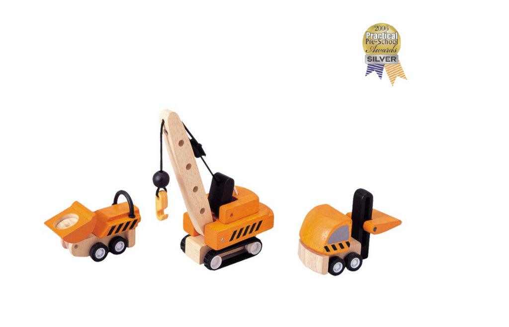 Plan Toys Construction Vehicles