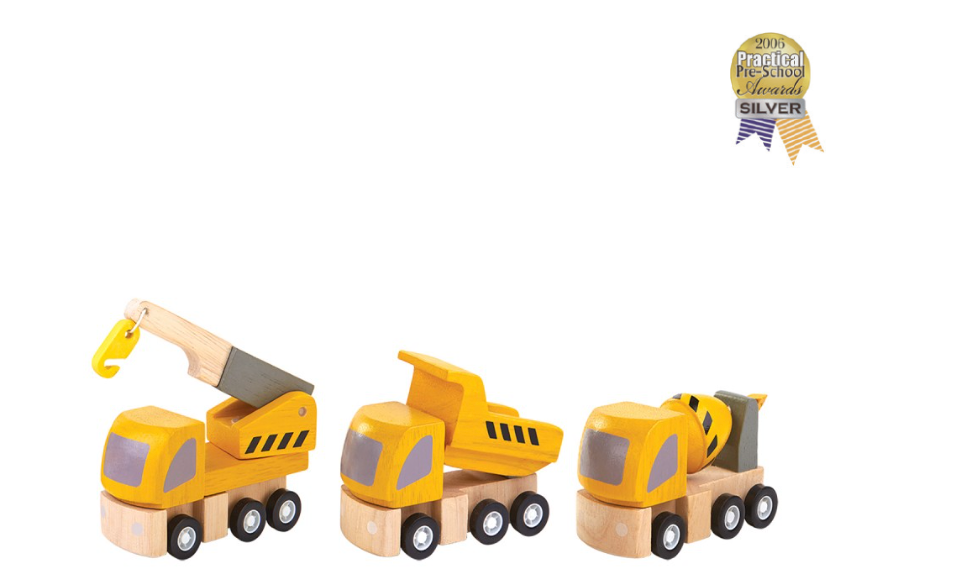 Plan Toys Highway Maintenance Set