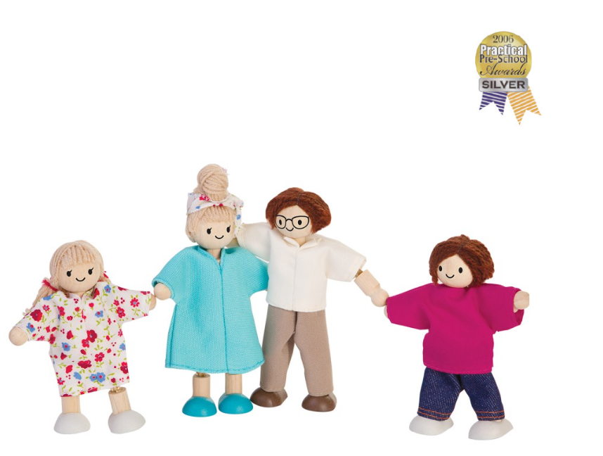 Plan Toys Doll Family 2