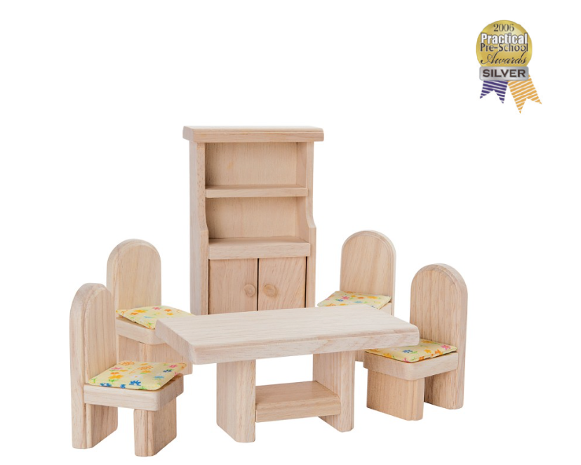 Plan Toys Dining Room Set - Classic