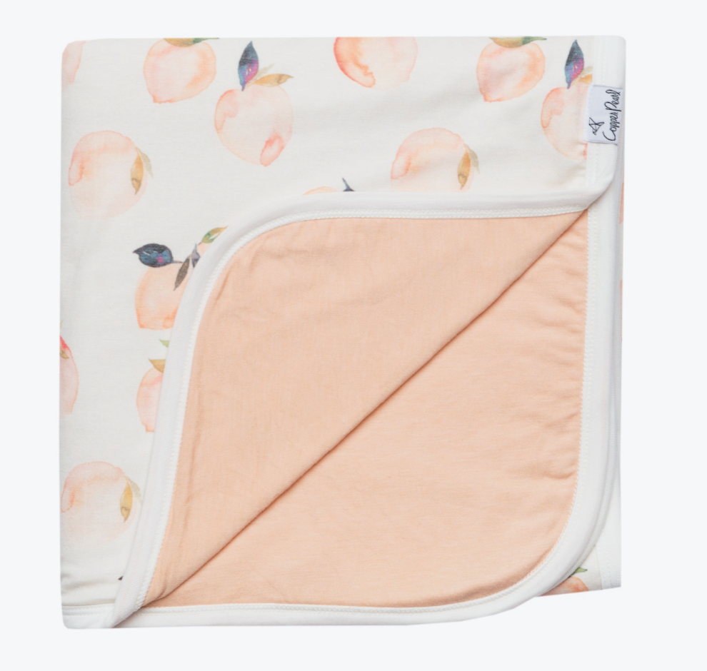 Copper Pearl 3 Layer Stretchy Quilt (more colors available)