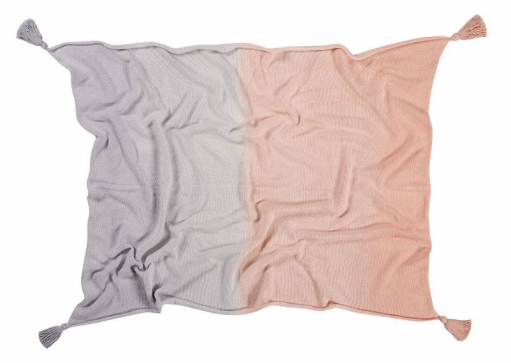 Lorena Canals Knitted Baby Blanket Ombre