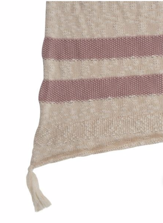 Lorena Canals Knitted Blanket Stripes