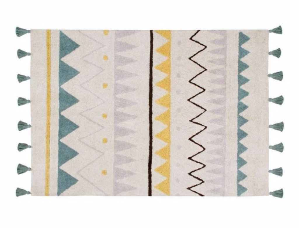 Lorena Canals Washable Rug Azteca Natural