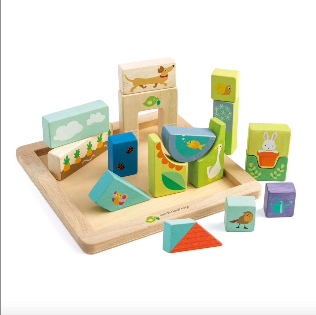 Tender Leaf Toys - Garden Patch Puzzle